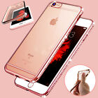 Luxury Ultra Thin Diamond Plating Silicone Case Cover for Apple iPhone 6&6s Plus