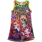 Girls Monster High dress nightie night gown sleepwear clothing size 4-10 AU