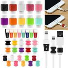 5x USB Cable Wire Charger Protector Saver For iPhone Macbook Samsung Huawei HTC