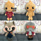 """8"""" Guardians of The Galaxy Vol.2 Baby Groot Rocket Raccoon Soft Plush Doll Toy"""