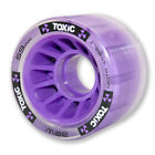 common skate - Mota Skates - Purple Toxic Hybrid Grip 88a / roll 93a derby wheels ( set of 4 )