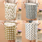 Внешний вид - Large Linen Storage Box Bin Holder Basket Stationery Organizer Laundry Bag USA