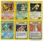 Gym Challenge Set 1st Ed - Pokemon HOLOS FOILS - Non Shiny RARES 1-30/132 CHOOSE