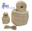 NATURAL SISAL DECKING ROPE 6mm 8mm 10mm 12mm 14mm 16mm 18mm 20mm 24mm 28mm 32mm
