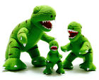 TERRY THE T REX DINOSAUR TOY KNITTED TYRANNOSAURUS TOY SAFE FROM BIRTH 4 SIZES