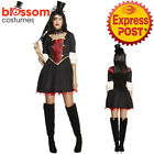 CA422 Fever Vampire Princess Halloween Dracula Horror Gothic Dress Up Costume