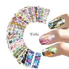 12 Patterns Nail Water Decal Nail Art Transfer Stickers Manicure Decoration TXWD