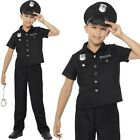 Childrens Fancy Dress Boys New York Cop Police Officer Costume New by Smiffys