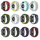 Soft Silicone Replacement Strap Sport Wrist Band For Apple Watch 42mm/38mm