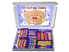 WE LOVE YOU DADDY Personalised FATHERS DAY Gift for Dad Chocolate or Sweeties