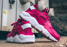 Nike Women's Air Huarache Run Sport Fuchsia Size 6-10 - 634835 606