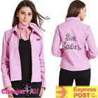 Pink Lady Jacket 50's 1950s Costume 50s Deluxe Ladies Frenchie Grease Rizzo