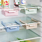Kitchen Fridge Space Saver Organizer Slide Under Shelf Rack Holder Storage Home