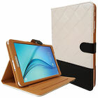 """Luxuary Leather Smart Flip Stand Case Cover Samsung Galaxy Tab A 9.7"""" T550 T551"""