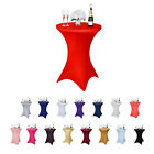 Внешний вид - Cocktail Spandex Table Cover For Wedding Party Banquet Events Decoration