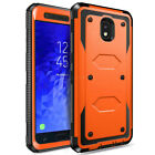 For Samsung Galaxy J3 2017/Emerge/Prime Shockproof Hybrid Armor Phone Case Cover