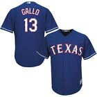 Texas Rangers 13 Joey Gallo Blue Cool Base Jersey