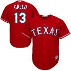 Texas Rangers 13 Joey Gallo Red Cool Base Jersey