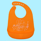 Baby Kids Silicone Stereo Bib Adjustable Waterproof Bibs Feeding Meals