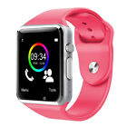 A1 Bluetooth Smart Watch Mens Sport for IOS Android Pedometer SIM/TF Card MP3