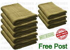 100% Cotton Top Quality Jumbo Bath Sheet Set Of 3 or 5 Gift Pack Coffee  New