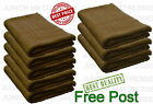 100% Cotton Best Quality Jumbo Bath Sheet Set Of 3 or 5 Gift Pack Chocolate New