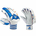 adidas SL Pro Cricket Batting Glove Mens Adult White/Blue