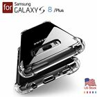 Slim TPU Case for Samsung Galaxy S7 Edge S8 Plus Note 8 Back Cover Clear Gel US