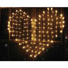 LED Heart-Shape Fairies String Curtain Light Valentine's Day Wedding Xmas Party