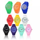 New Men's Gents Ladies Women's Silicon/Rubber Wrist Watch For personal use&gift