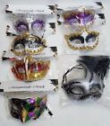 Glitter MASQUERADE Mask VENETIAN CARNIVAL FANCY DRESS Party Christmas Halloween