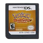 Pokemon HeartGold SoulSilver Nintendo DS Game Cards US Version [Reproduction]