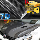7D Premium Super Gloss Carbon Fiber Vinyl Film Wrap Bubble Free Air Release 6D фото