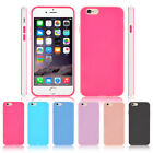 For New Apple iPhone iPhone 6 6s / 6s Plus TPU Gel Jelly Skin Bumper Matte Case