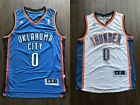 Oklahoma City Thunder 0 Russell Westbrook Basketball Jersey
