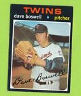 1971 Topps High Number - Dave Boswell (#675) Minnesota Twins