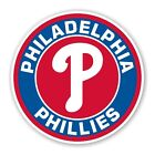 Philadelphia Phillies  Round  Decal / Sticker Die cut on Ebay