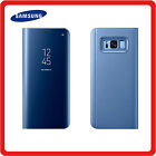 Samsung Galaxy NOTE 8 Clear View Mirror Leather Flip Wallet Stand Case Cover <br/> ✔Free Screen Protector ✔1st UK Class Post ✔Best Quality