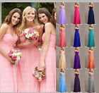 Lace Long Formal Evening Ball Gown Party Prom Bridesmaid Dress Stock Size 6-18