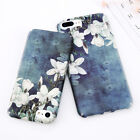 New Shockproof Flower 3D Pattern UltraThin Hard Back Phone Case Cover For iPhone