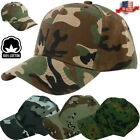 New Plain Camo Washed Cotton Polo Style Baseball Ball Cap Caps Hat Adjustable