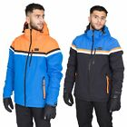 DLX Niven Mens DLX Waterproof Ski Jacket Hooded Insulated Stretch Snow Coat