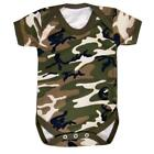 Camouflage Baby Bodysuit Baby Vest - ARMY Camo Baby