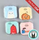 Dessert Coockie Bear Cartoon Contact Lens Travel Case Box Mirror Container Kit