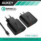 AUKEY PA-T13 Dual Port USB Wall Charger with Quick Charge 3.0 & AiPower