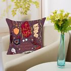 Polyester Cartoon Harry Potter Cushion Cover Sofa Bed Throw Pillow Case