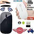 Wireless Optical Mouse for All Macbook Air Pro Win10/Mac Laptop Computer PC
