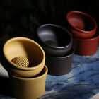 Yixing Zisha Clay Chinese Gongfu Tea Strainer & Stand Set with Ball Filter