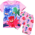 PJ MASKS girls tee top and pants set pjs pyjamas size 2-6 xmas kids clothing