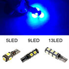 4/6/10 T10 CAR BULBS LED ERROR FREE CANBUS 13 SMD XENON WHITE W5W 501 SIDE LIGHT <br/> 2/4/6/10Pc☆Fast&amp;Free 1st Post☆Red Blue White☆Best Price